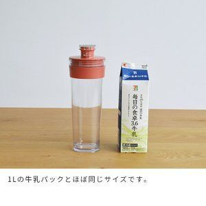 Fresh Rock Pitcher 1.1L Chiller Pitcher One Touch Easy to po …