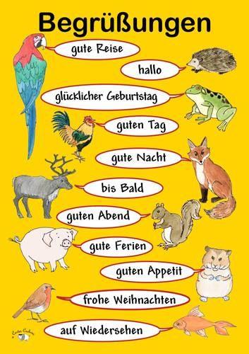 Pin by maria simou on languages german pinterest german german les animaux et les salutations m4hsunfo