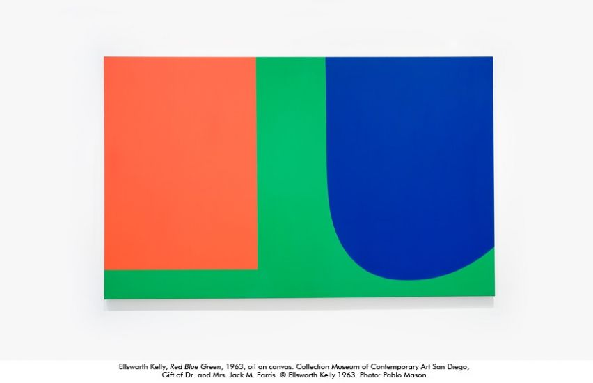 Ellsworth Kelly / Red Blue Green, 1963 / o/c