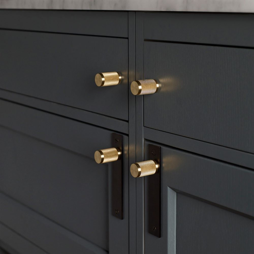 FURNITURE HANDLE / SMOKED BRONZE & BRASS - Buster + Punch | style ...