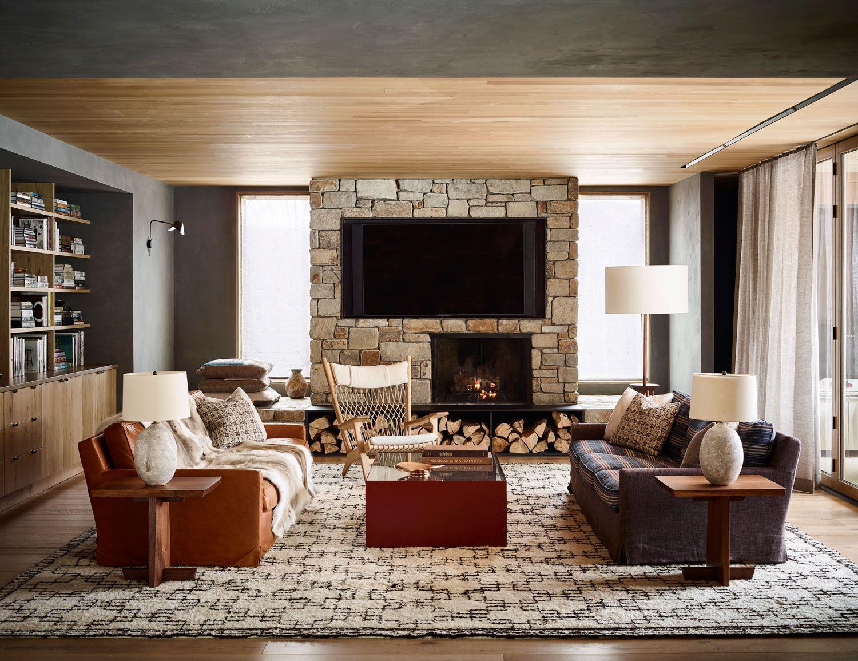Caldera house luxury resort in jackson hole by commune also best        images interior decorating rh pinterest