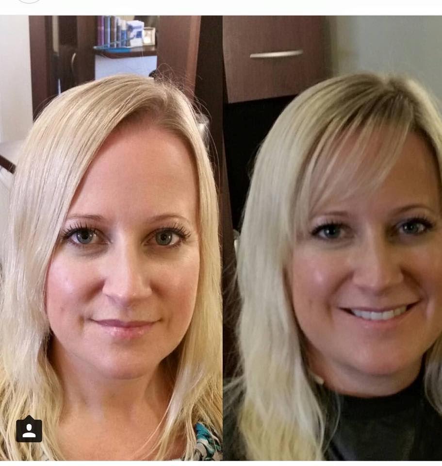 Quick Bang Transformation By Kaitlyn At Radura Salon And Spa In