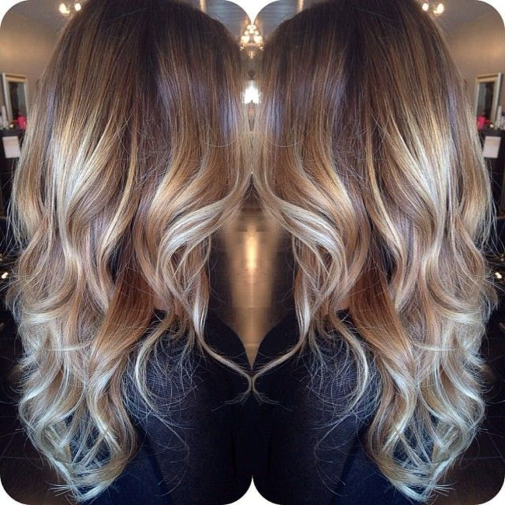 90 balayage hair color ideas with blonde brown and caramel highlights blonde balayage brown - Balayage blond caramel ...