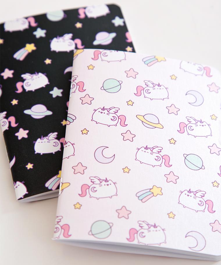Super Pusheenicorn Pearlescent Notebook Set Cute Notebooks Cute