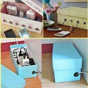 ranger ses fils électriques dans une boite2