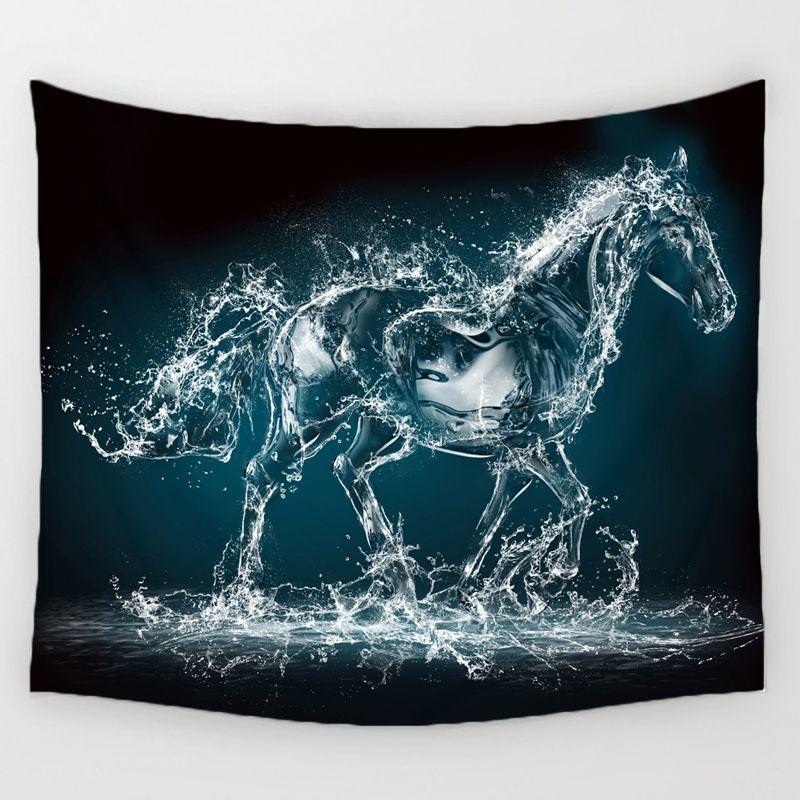 Horse wall hanging tapestry home decor tapestry wall