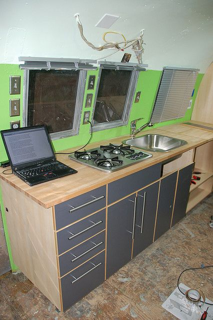 cutting Ikea cabinets for trailers | All Things Trailers | Airstream