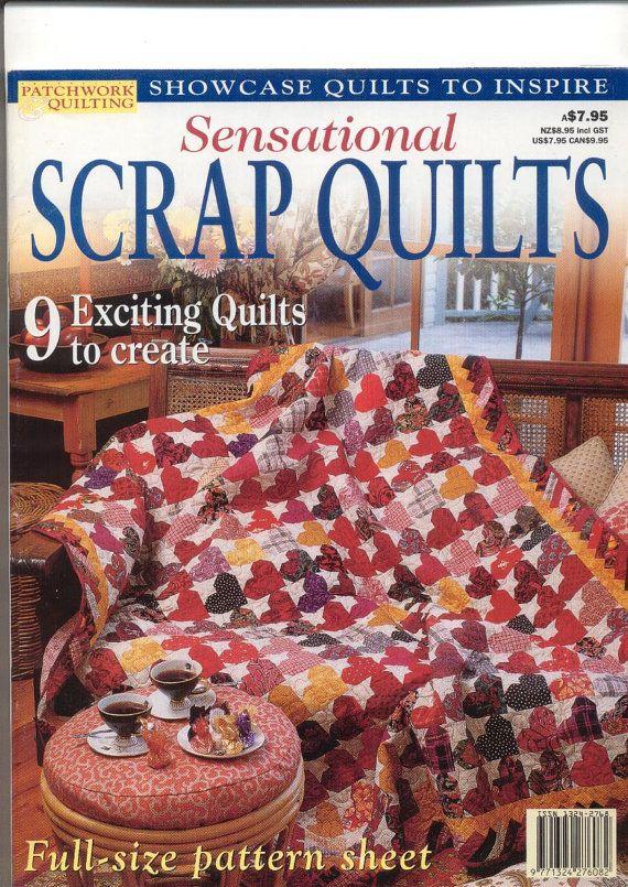 Sensational Scrap Quilts, Australian Patchwork and Quilting ... : australian quilt magazines - Adamdwight.com