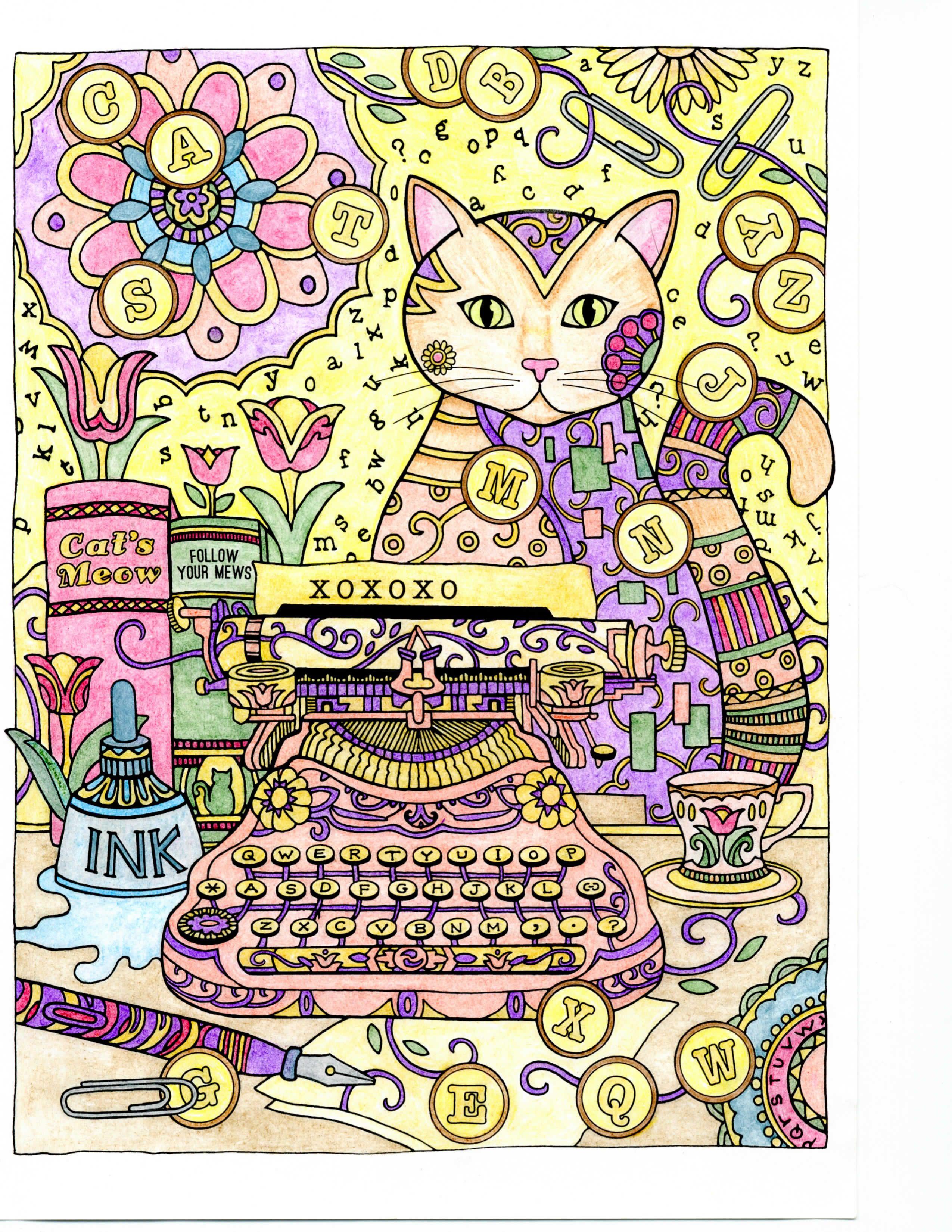 Creative Haven Creative Cats
