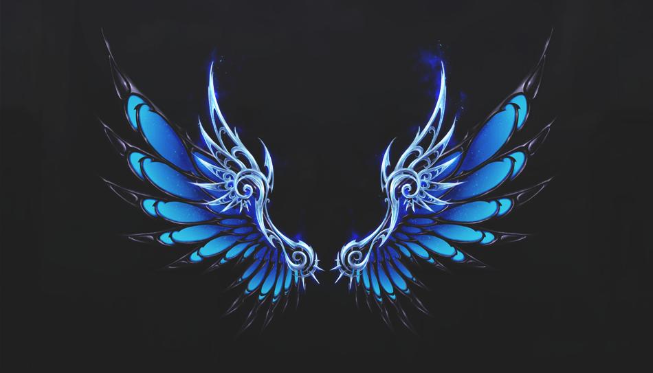 Redundancy Assured Wings Art Wings Drawing Dark Wings