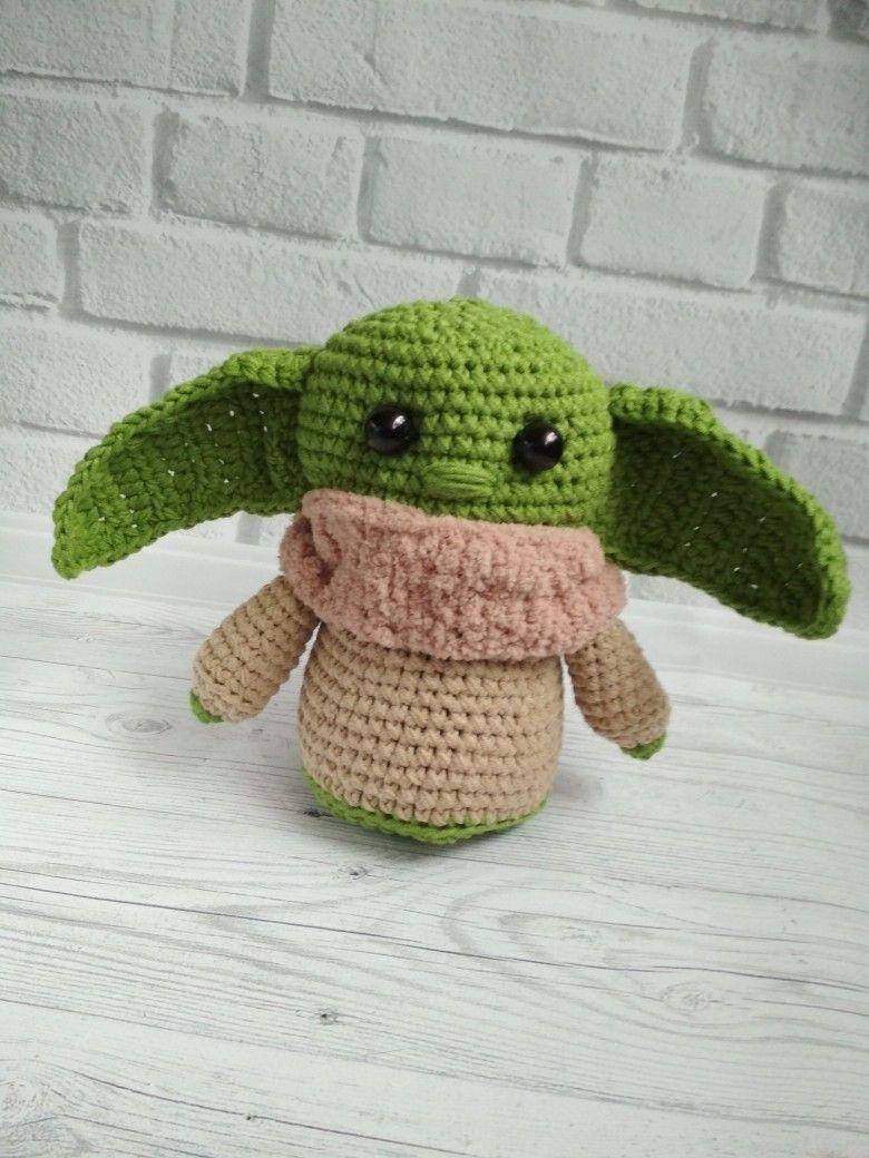 Baby yoda plush toy inspired monster halloween toy