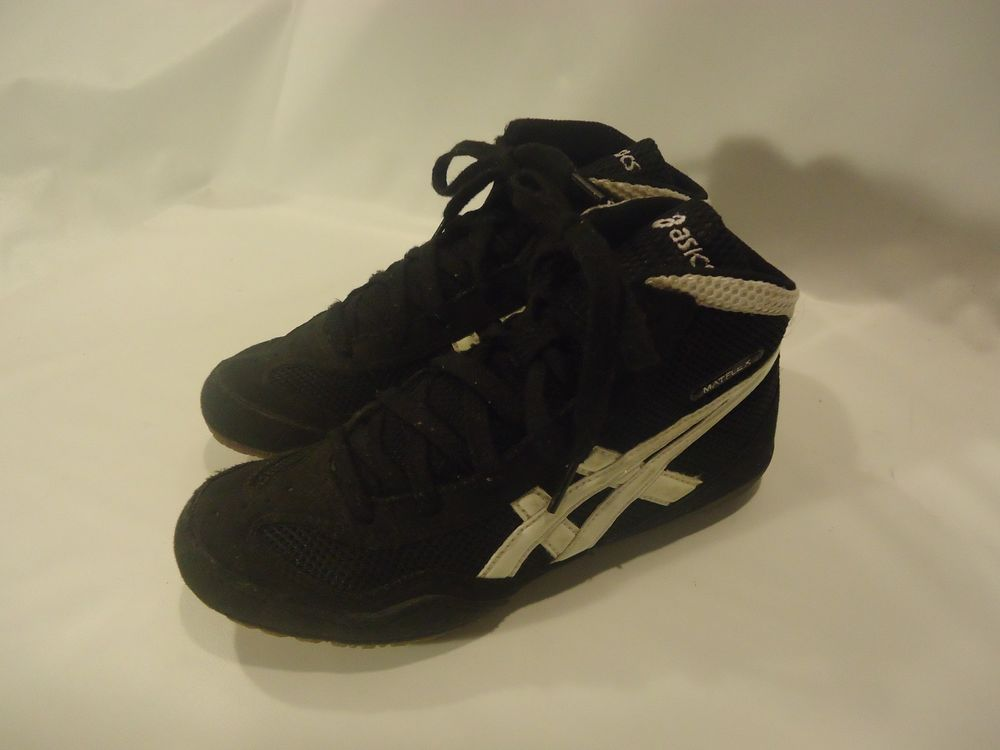 asics youth wrestling shoes size 4.5 herren