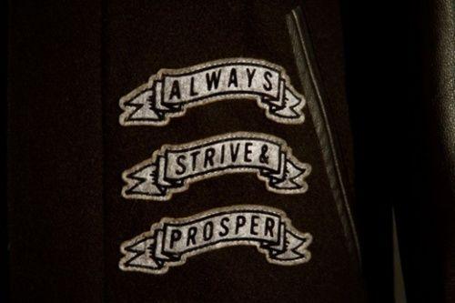 Always strive and prosper tattoo