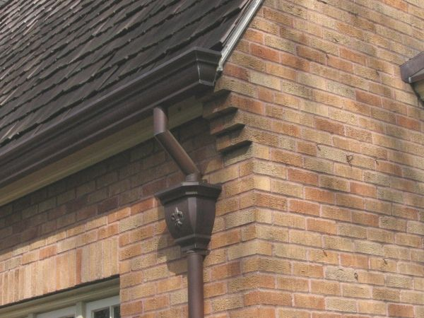 Why Copper Gutters Instead Of Galvanized Think Green Copper Gutters Downspout Drainage Downspout