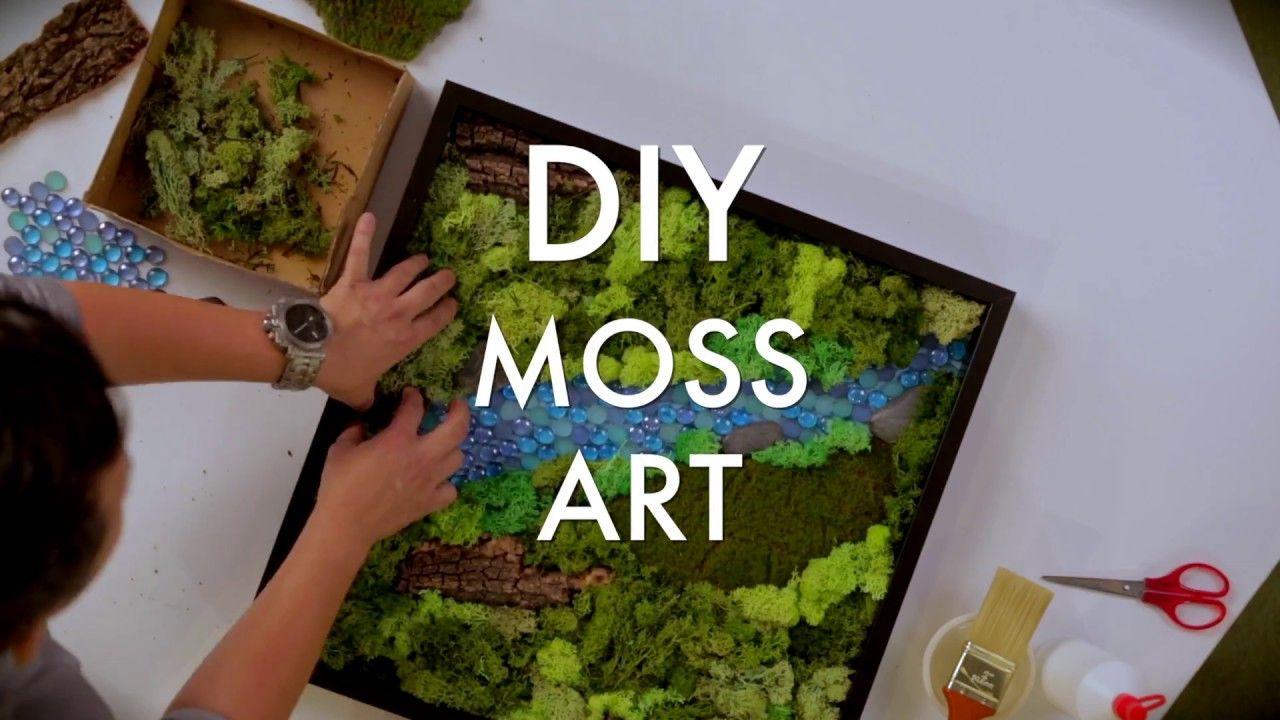 Keppellandfolks diy moss art moss wall art moss art moss