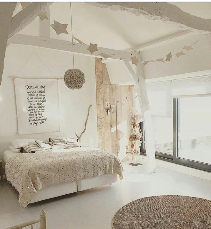 Bedroom in neutrals en 2019