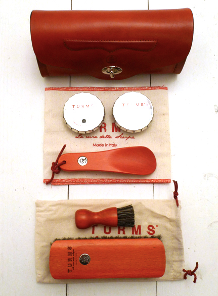 Turms Shoe Care Kit with Leather Case cheap sale cheapest price free shipping the cheapest YHlLCXC64
