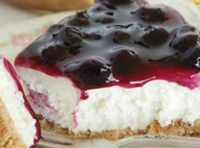 Easy Blueberry Cheesecake No Bake Blueberry Cheesecake Blueberry Cheesecake Recipe Desserts