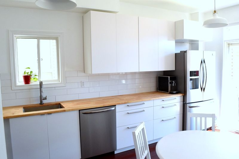 The IKEA SEKTION kitchen Before and After and Lessons learned - ikea küche landhaus