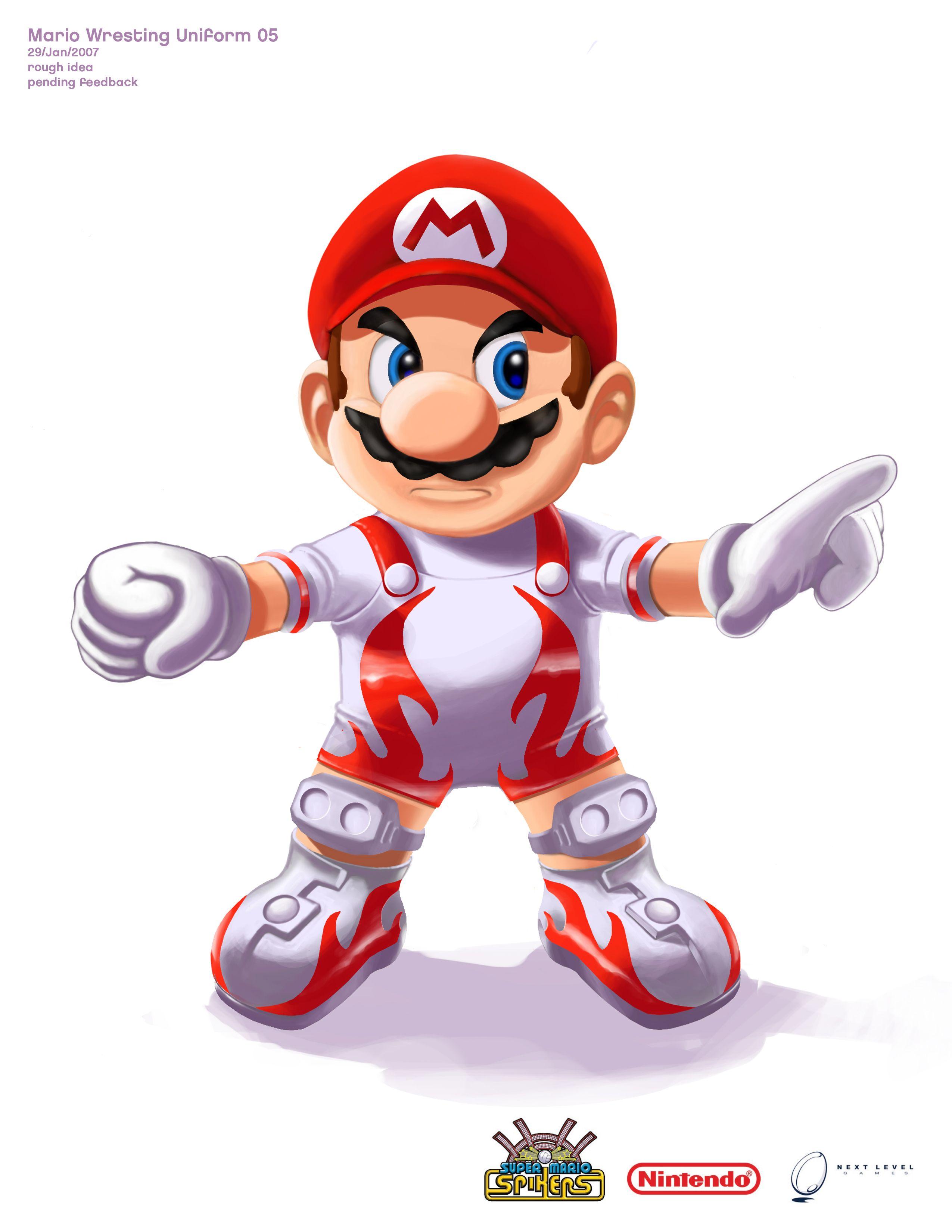 Super Mario Spikers Wii Cancelled Unseen 64 Super Mario Mario Super Mario Bros