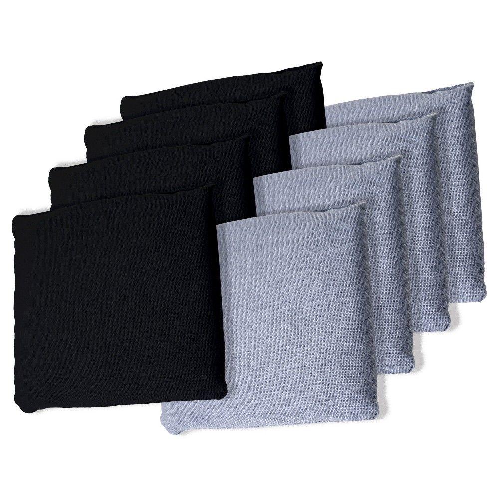 Cornhole Bags Bean BagsBaggo Toss ACA Regulation Sz Double Stitched Set of 8 33
