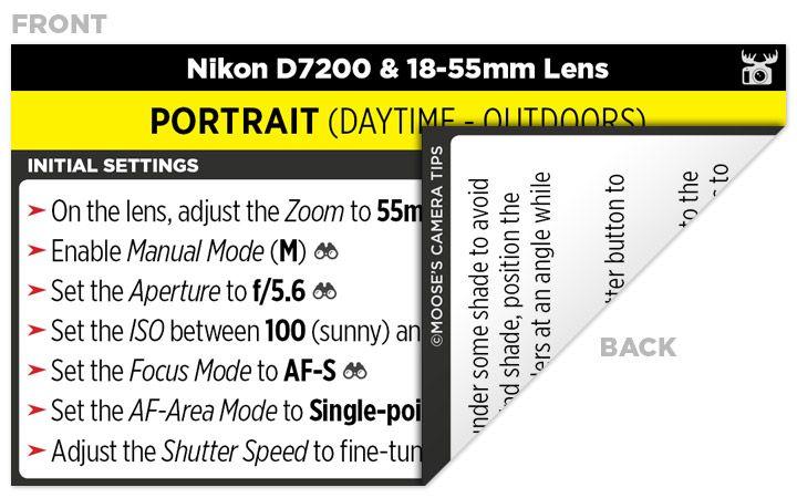Sample Nikon D7200 Cheat Sheet | Photography | Camera nikon, Nikon