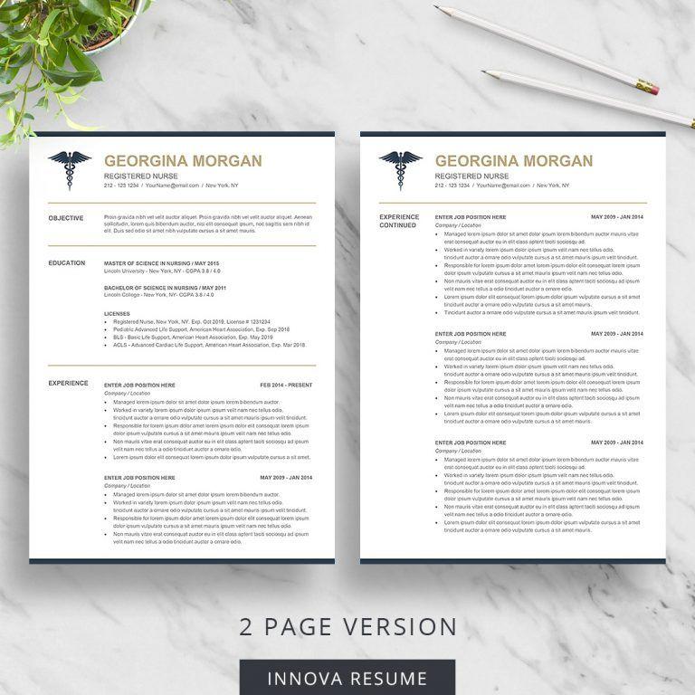 Doctor resume template medical resume template nursing