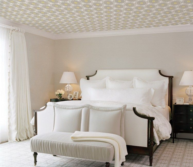 50 Master Bedroom Ideas That Go Beyond The Basics: New Ceiling Wallpaper Trends 2018-2019