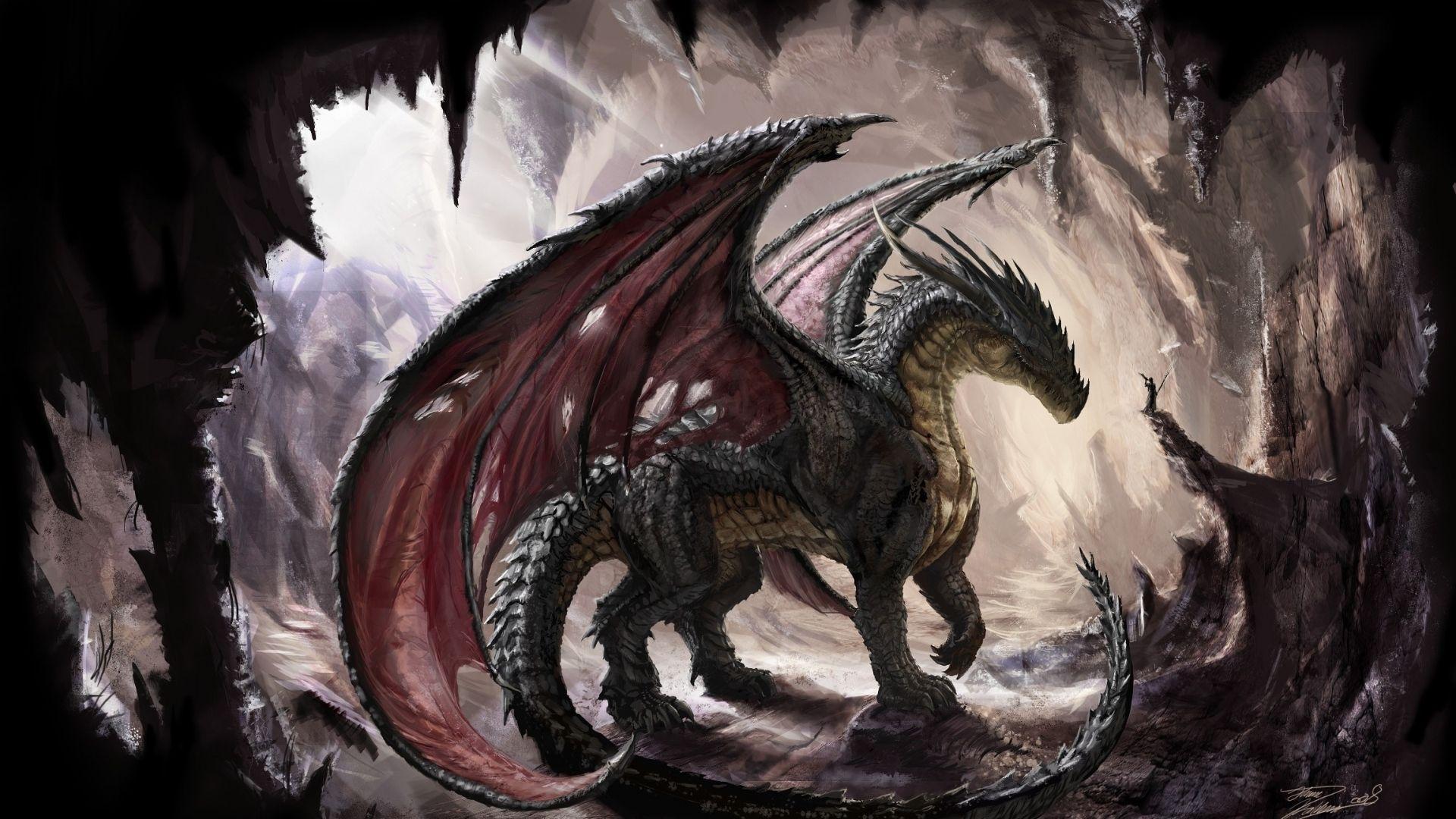 10 Latest Dragon Wallpaper Hd 1080p Full Hd 1920 1080 For Pc Background Dragon Pictures Dragon Cave Fantasy Dragon
