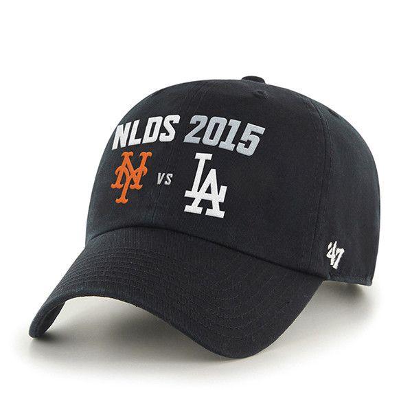 New York Mets Los Angeles Dodgers 47 Brand 2015 Postseason NLDS ... 5aea067502c