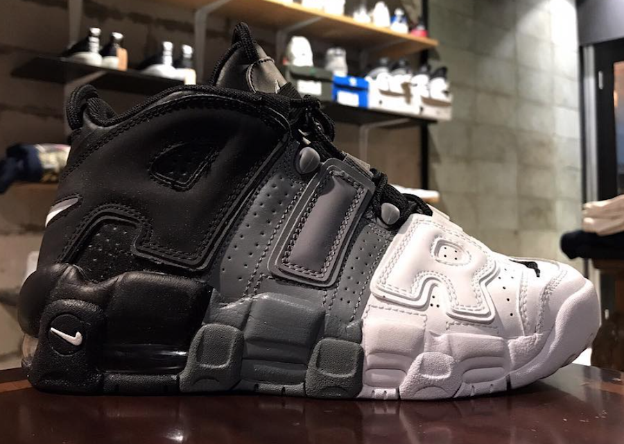 Our Latest Look At The Nike Air More Uptempo GS Tri-Color • KicksOnFire.com