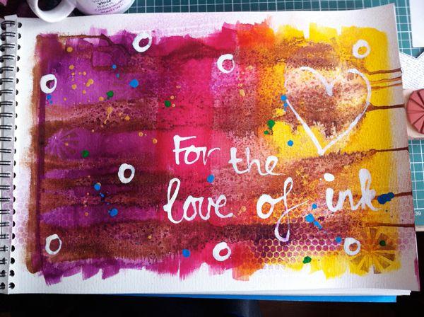 On My Desk Art Creativity Craft Art Journaling Art