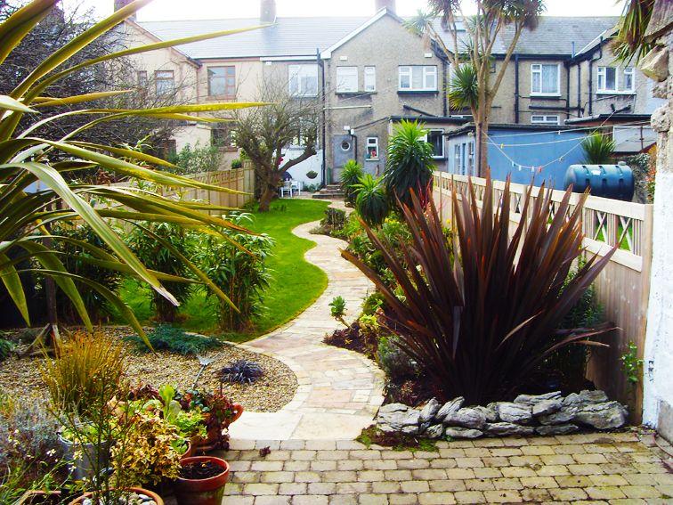 Duff Garden Design Long narrow garden Garden ideas