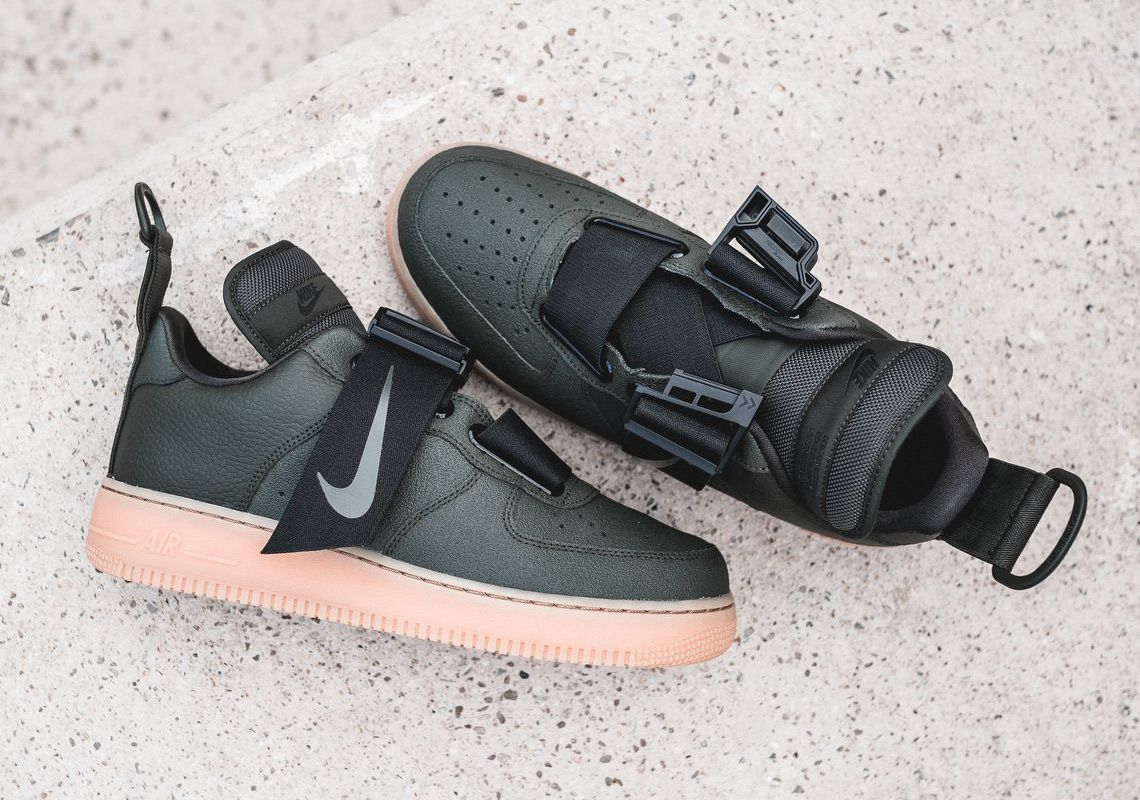 Nike Air Force 1 Utility Olive Gum Release Info  thatdope  sneakers  luxury   dope  fashion  trending 9e1bf9943