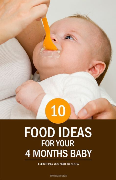 30ff41802 Top 10 Ideas For 4 Month Baby Food