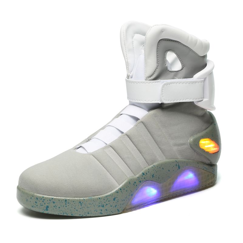 Comback To The Future Glowing Sneakers Soldier Shoes Brand Boots