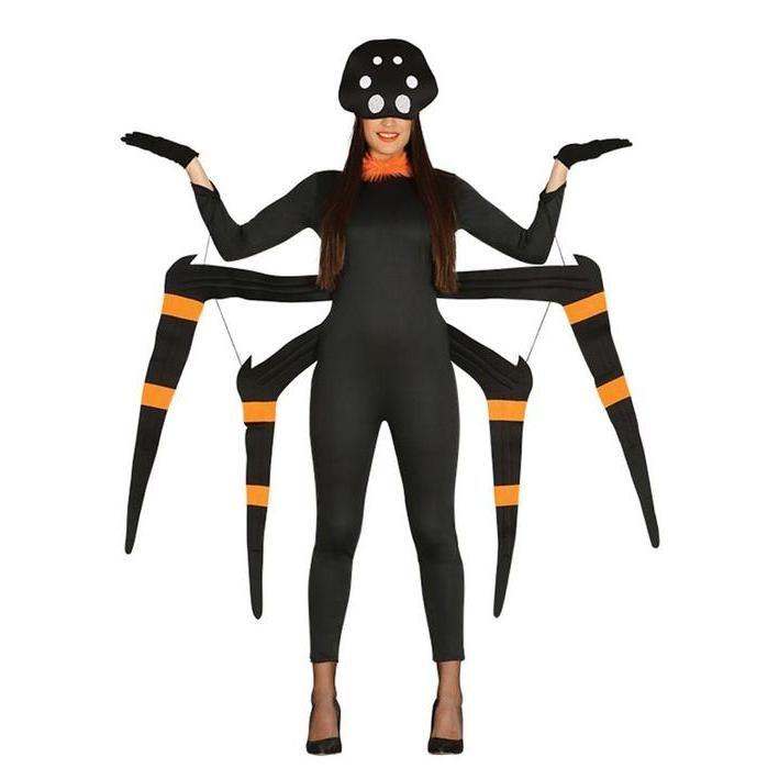 Disfraz De Arana Venenosa Para Mujer Disfraces De Animales Para - Disfraz-de-araa-casero
