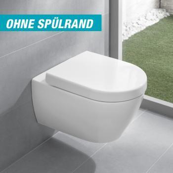 Villeroy  Boch Subway 20 Wand-Tiefspül-WC offener Spülrand