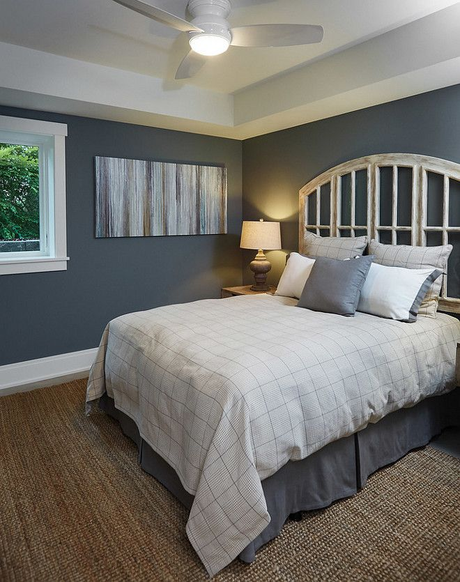 Wall paint color is Benjamin Moore 1588 Gray Pinstripe. | New ...