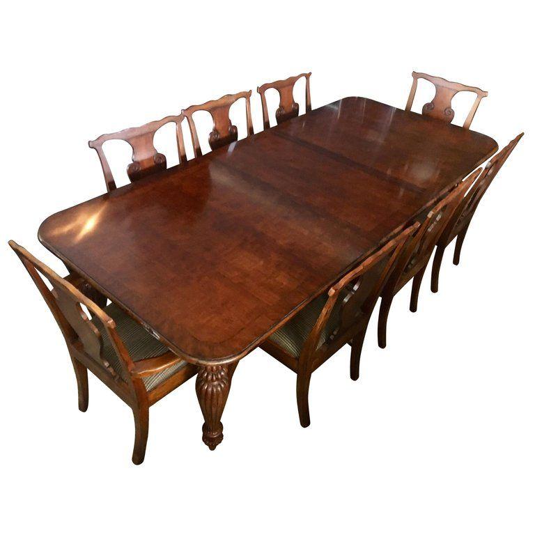 Henredon Dining Room Set Ralph Lauren Eight Chairs American