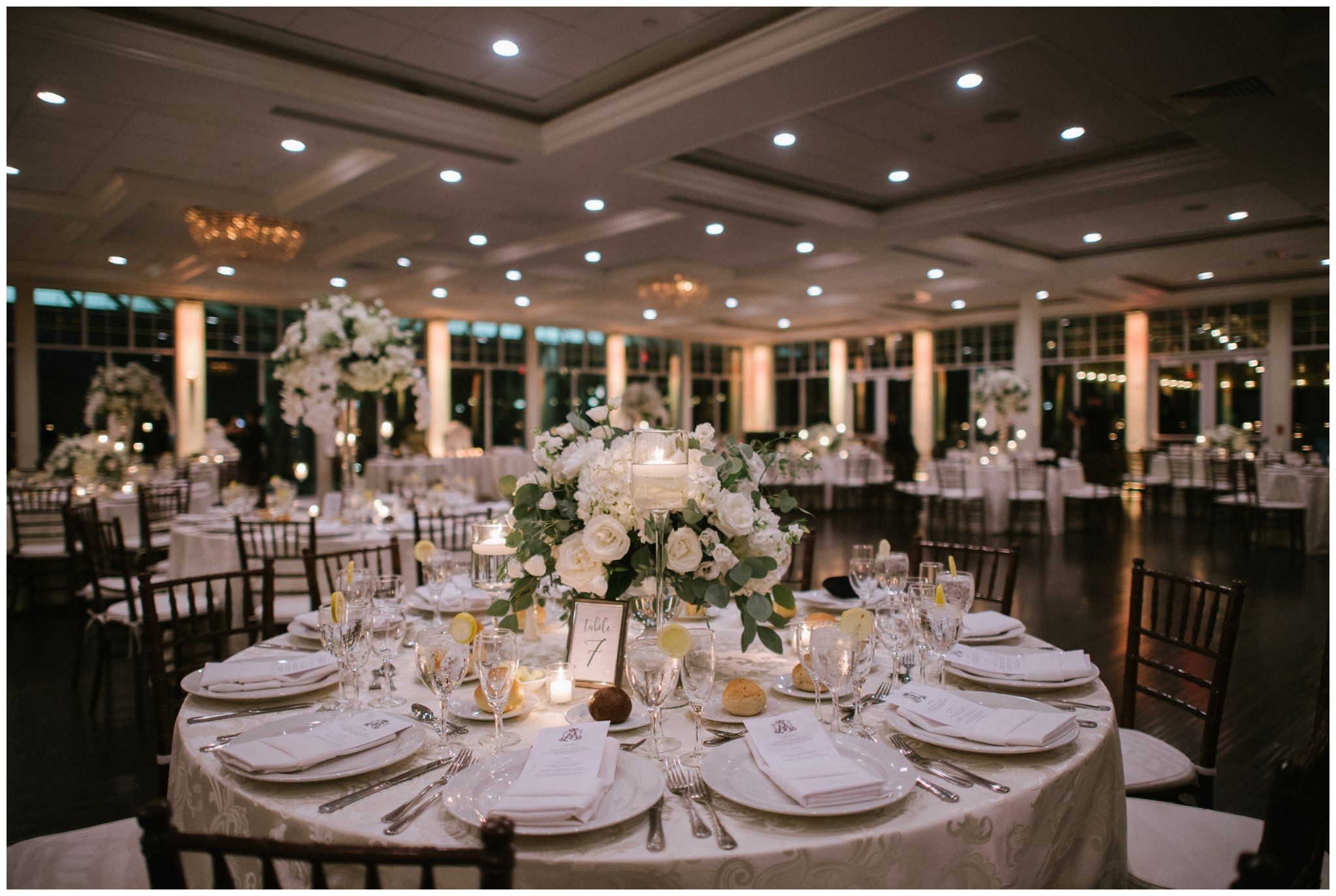 Wedding Reception Table Detail Stonebridge Golf Links Country Club Photos By