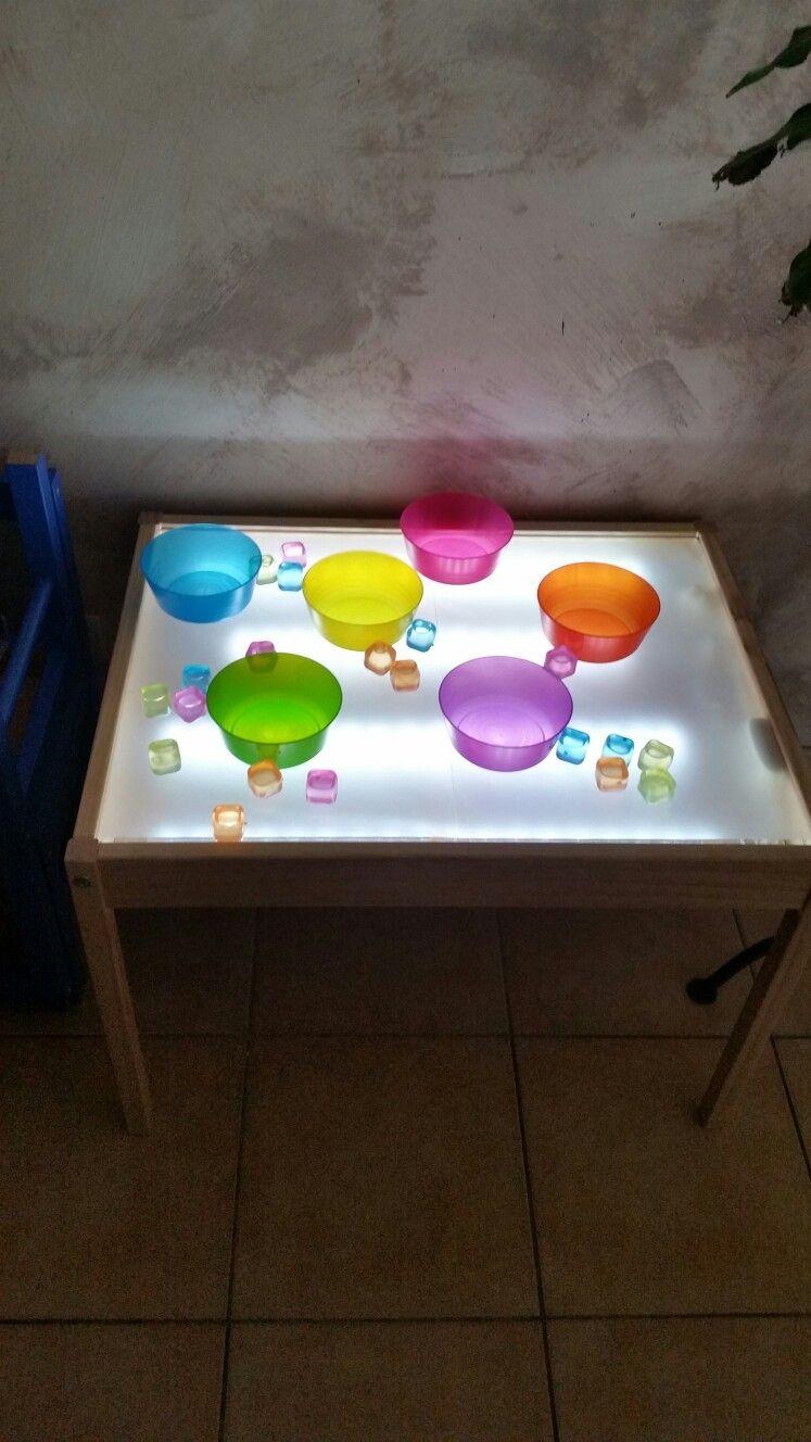 table lumineuse ikea light table