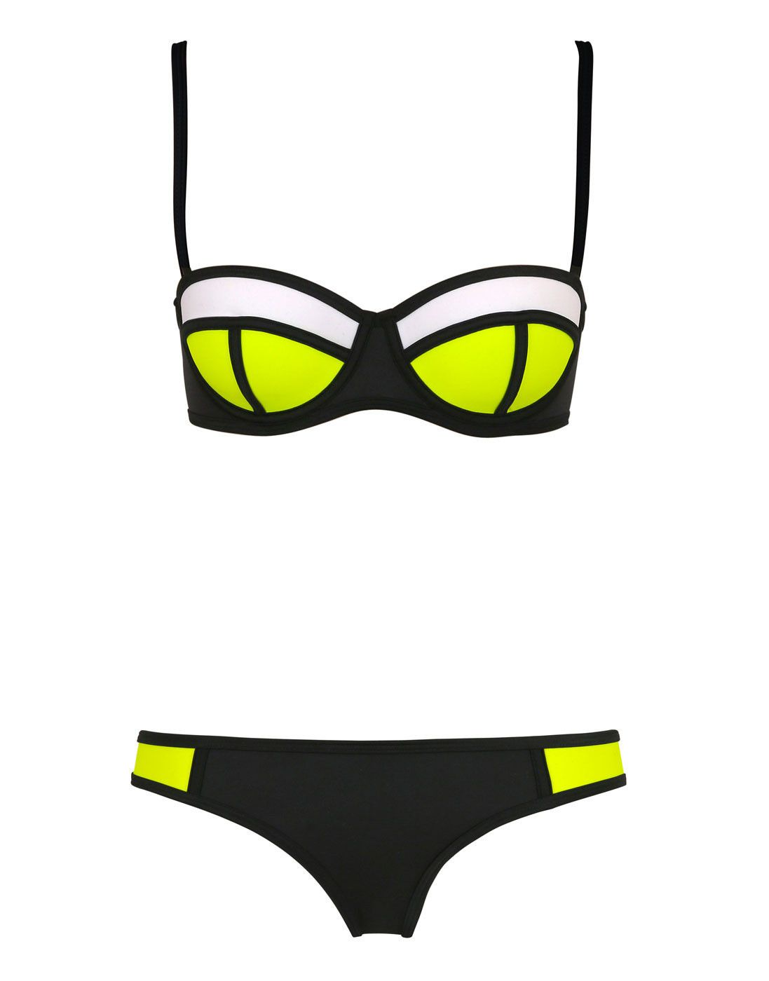 f8669564b51 Sexy Triangle Bikini With Rims Polyester Swimsuit T15010601 – Tepayi ...