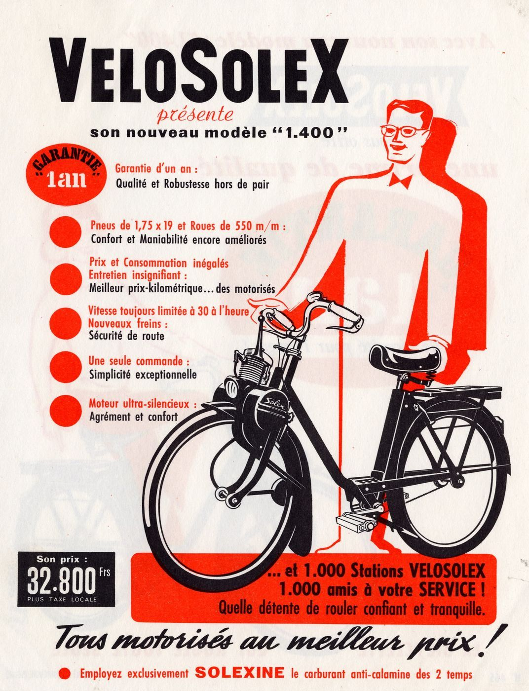 solex consommation