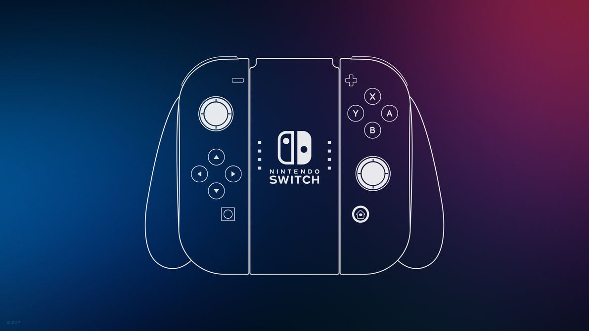 Nintendo Switch Controller Wallpaper By Ljdesigner Deviantart Com On Deviantart Nintendo Switch Switch Phone Switch