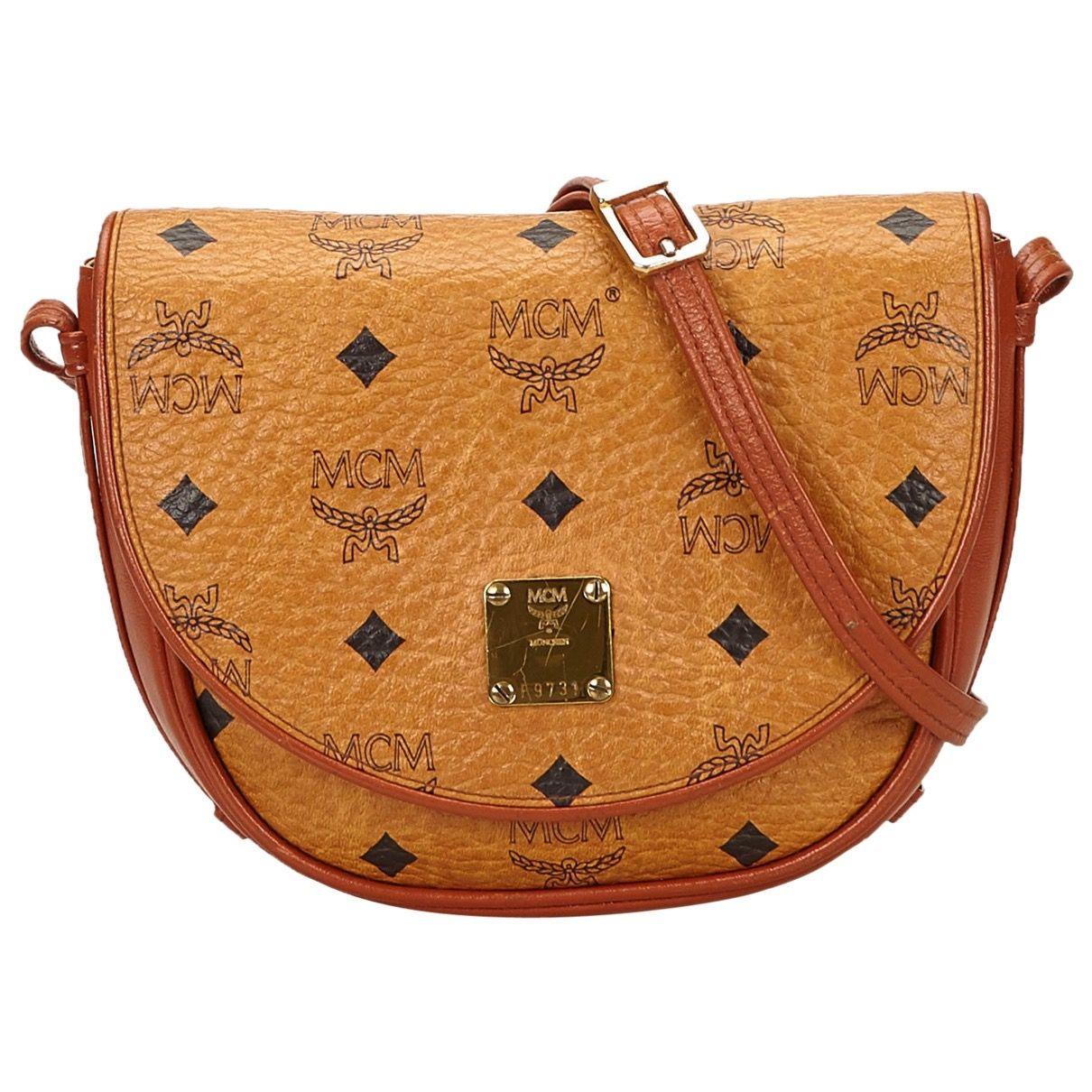 FOUND ON | Taschen, Braune tasche, Mcm tasche