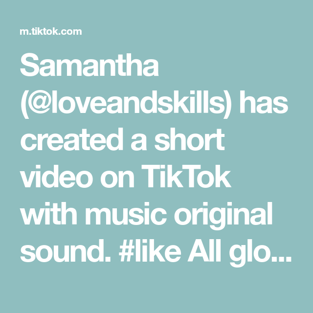 Samantha (@loveandskills) has created a short video on TikTok with music original sound. #like All glorybe to God I do not own all of this #foryou #beautyandthebeast #taleasoldastime #remix #singing #love #checkthisout #fyp #4u #helloworld