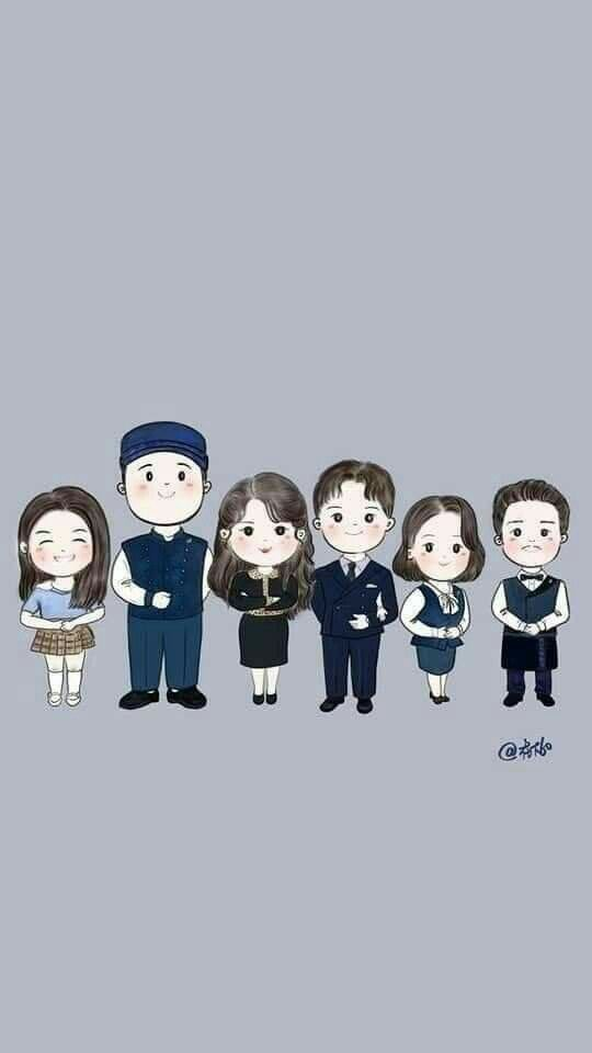 Hotel Del Luna Cute Wallpapers Korean Art Funny Korean
