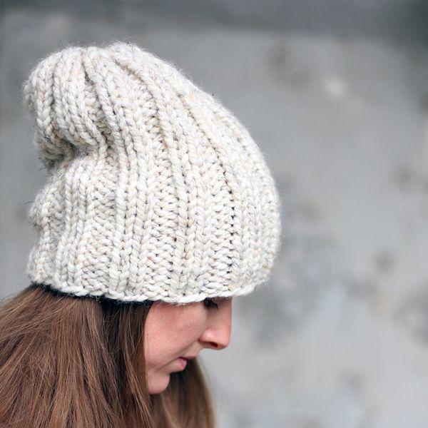 DARING Hat Knitting Pattern | Knits | Pinterest | Gorro tejido ...