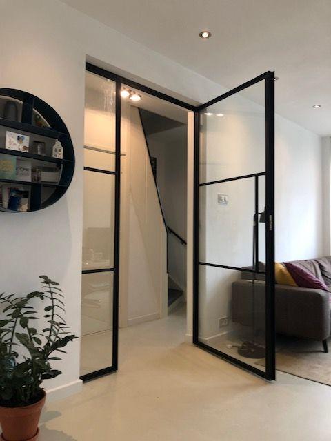 steel door with side light. Posted in Hillegersberg